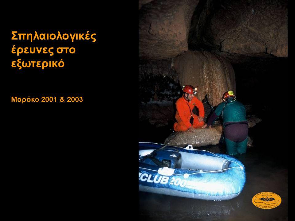 Σπηλαιολογικές έρευνες στο εξωτερικό