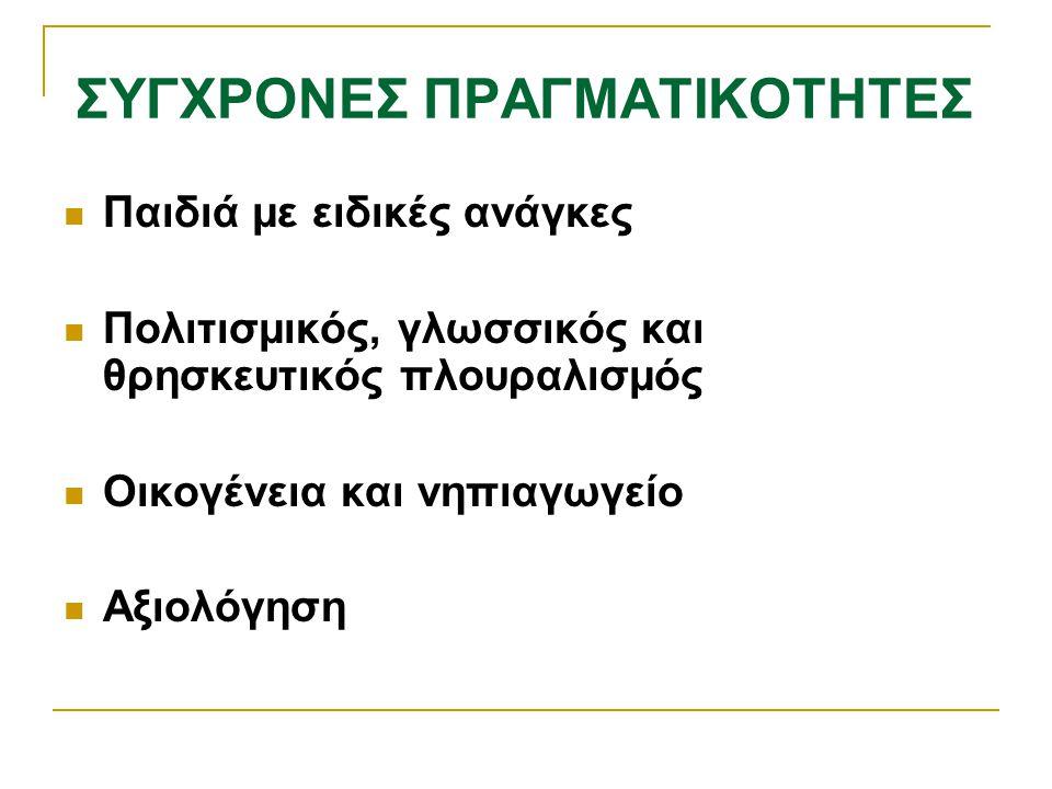 ΣΥΓΧΡΟΝΕΣ ΠΡΑΓΜΑΤΙΚΟΤΗΤΕΣ