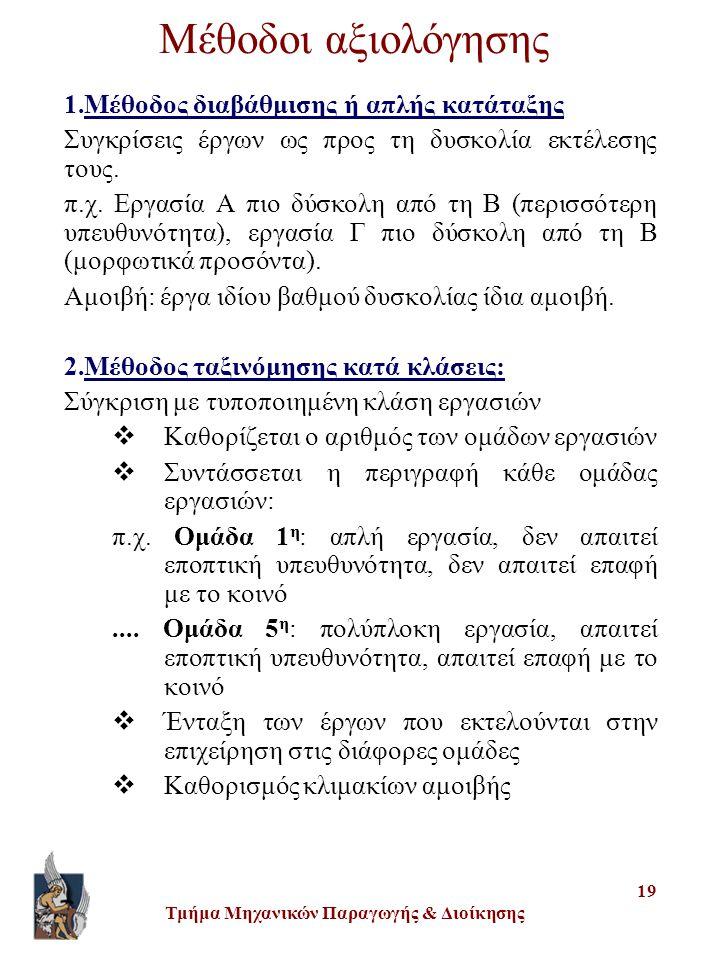 Τμήμα Μηχανικών Παραγωγής & Διοίκησης