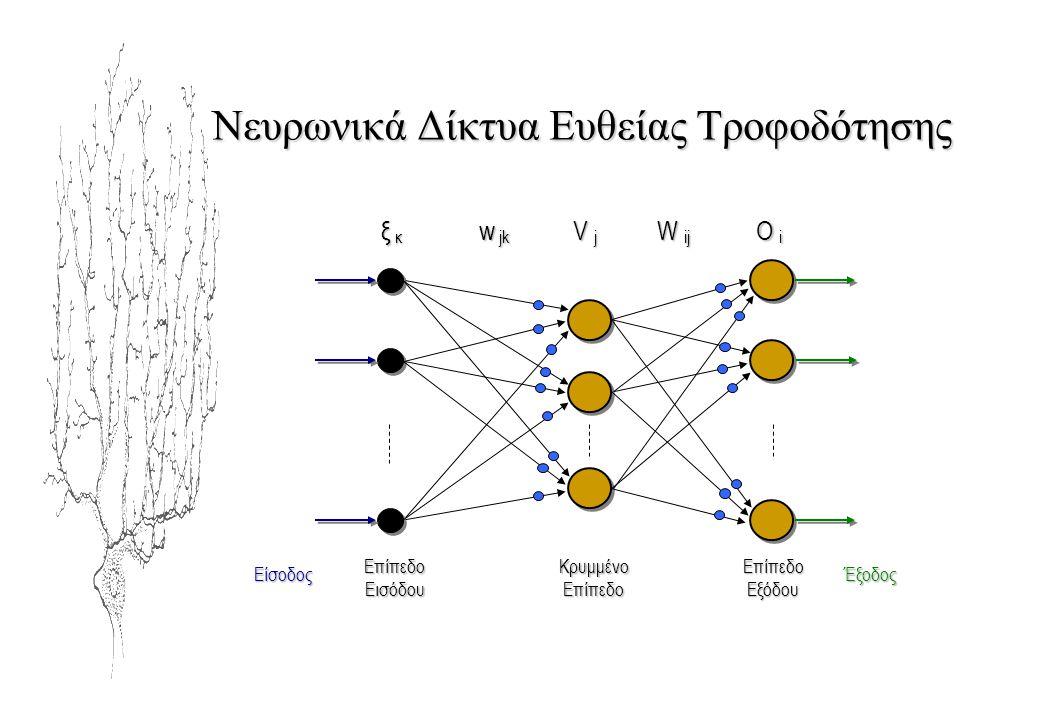 Νευρωνικά Δίκτυα Ευθείας Τροφοδότησης