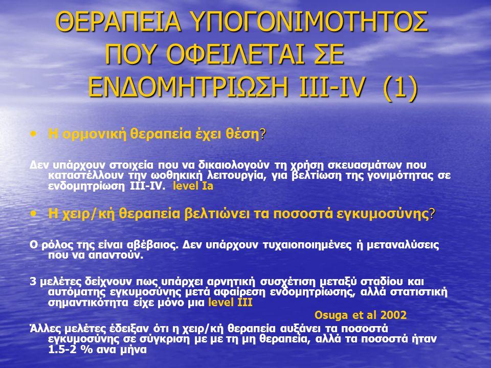 ΘΕΡΑΠΕΙΑ ΥΠΟΓΟΝΙΜΟΤΗΤΟΣ ΠΟΥ ΟΦΕΙΛΕΤΑΙ ΣΕ ΕΝΔΟΜΗΤΡΙΩΣΗ III-IV (1)
