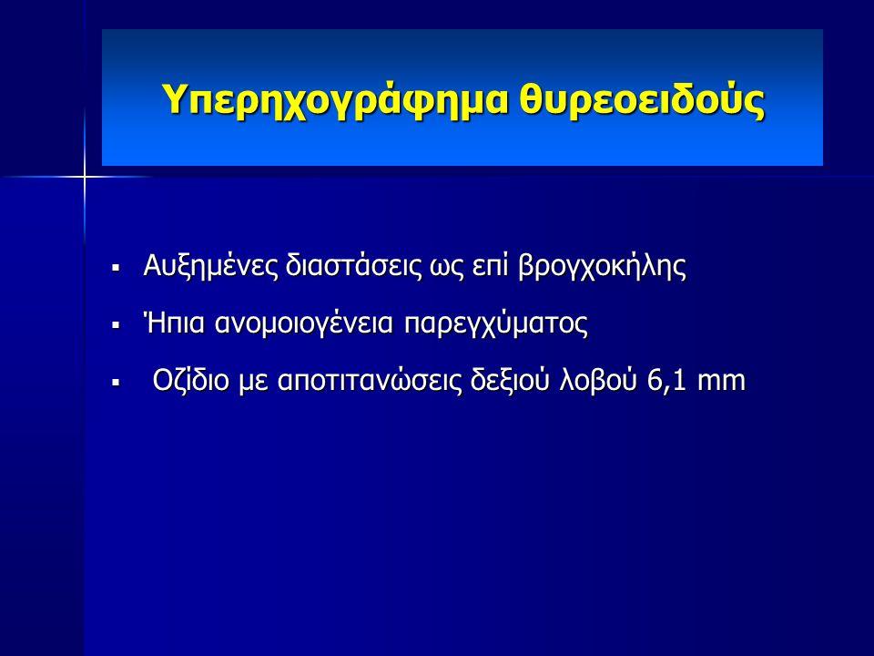 Υπερηχογράφημα θυρεοειδούς