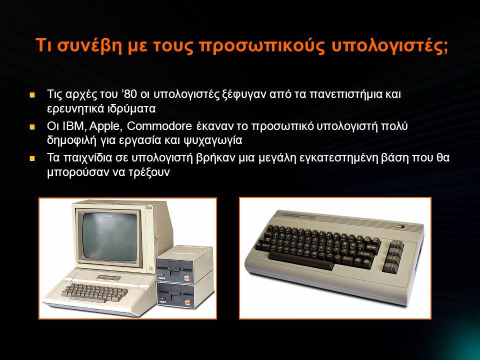 Τι συνέβη με τους προσωπικούς υπολογιστές;