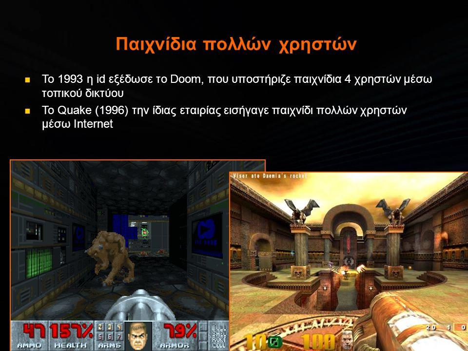 Παιχνίδια πολλών χρηστών