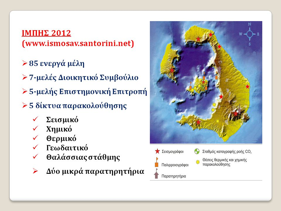 IΜΠΗΣ 2012 (www.ismosav.santorini.net) 85 ενεργά μέλη