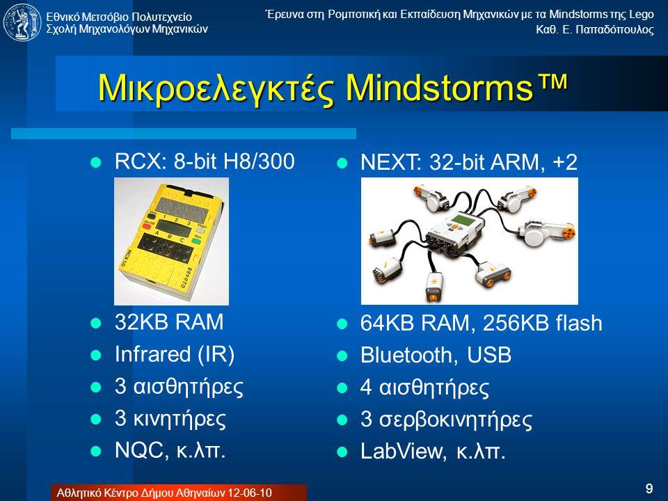 Μικροελεγκτές Mindstorms™