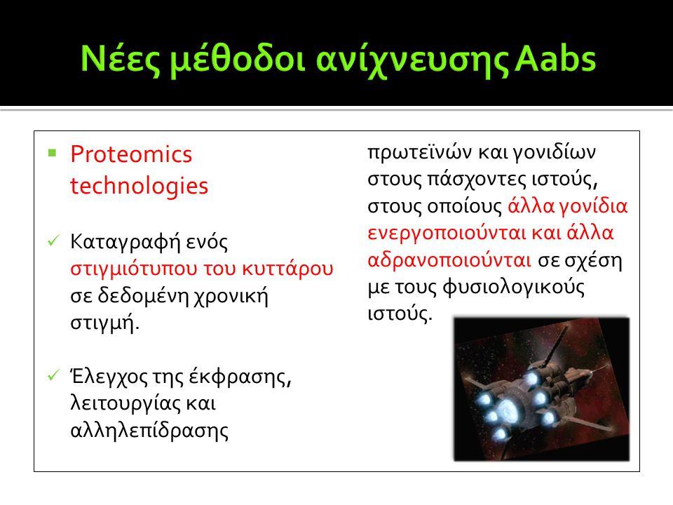 Νέες μέθοδοι ανίχνευσης Aabs
