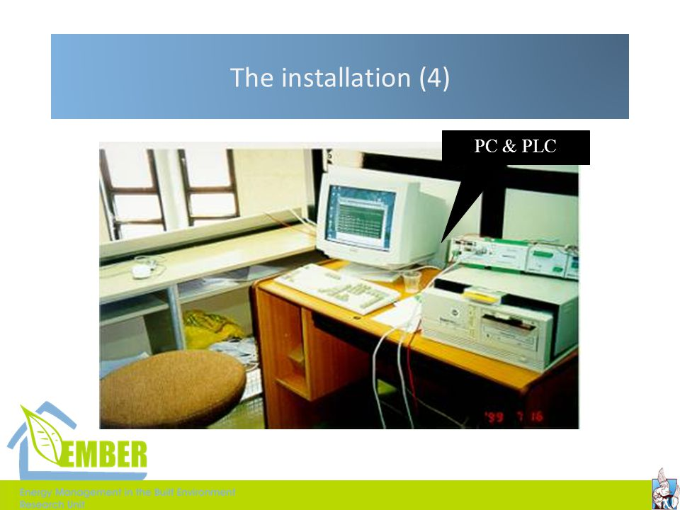 The installation (4) PC & PLC