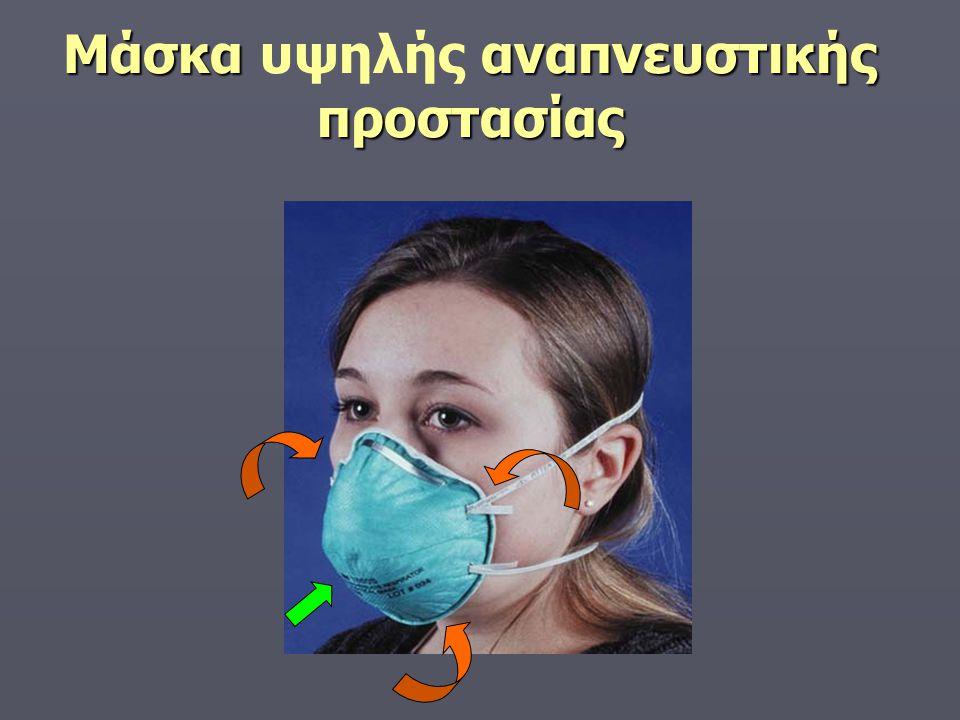 Μάσκα υψηλής αναπνευστικής προστασίας