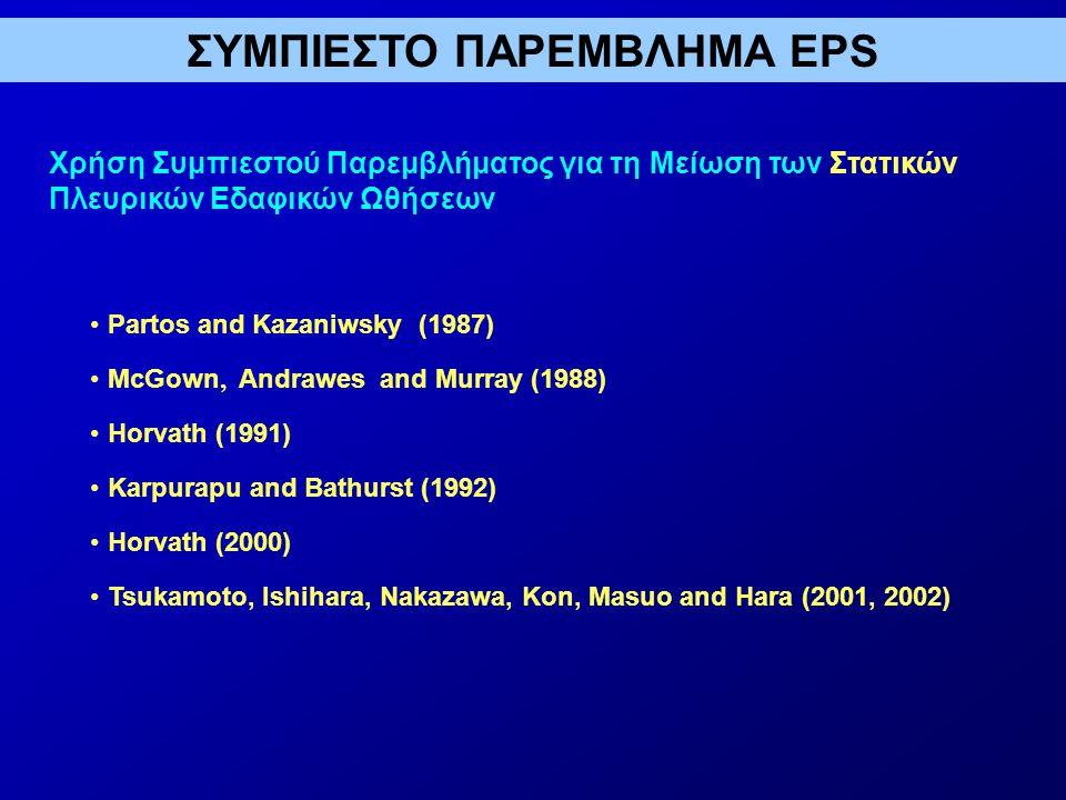 ΣΥΜΠΙΕΣΤΟ ΠΑΡΕΜΒΛΗΜΑ EPS
