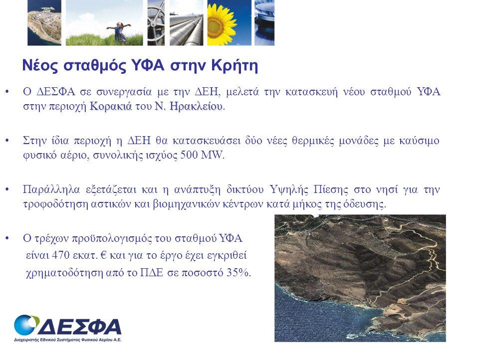 Νέος σταθμός ΥΦΑ στην Κρήτη