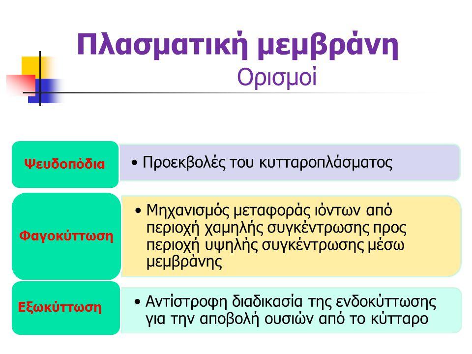 Πλασματική μεμβράνη Ορισμοί