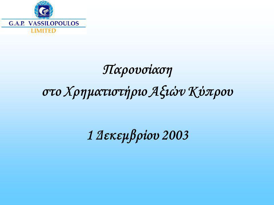 στο Χρηματιστήριο Αξιών Κύπρου