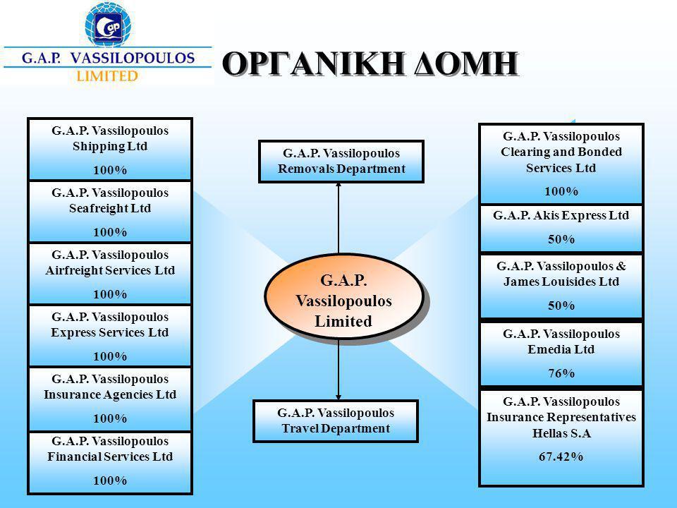 ΟΡΓΑΝΙΚΗ ΔΟΜΗ G.A.P. Vassilopoulos Limited