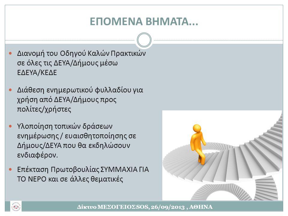 Δίκτυο ΜΕΣΟΓΕΙΟΣ SOS, 26/09/2013 , ΑΘΗΝΑ
