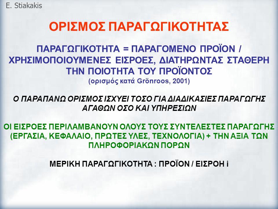E. Stiakakis