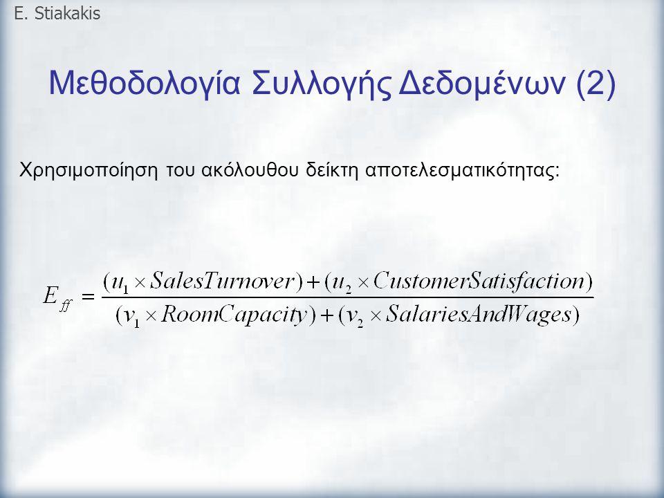 Μεθοδολογία Συλλογής Δεδομένων (2)