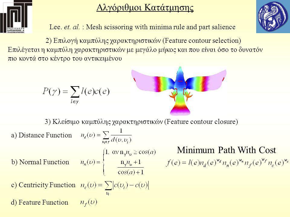 Αλγόριθμοι Κατάτμησης