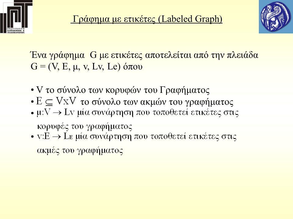 Γράφημα με ετικέτες (Labeled Graph)