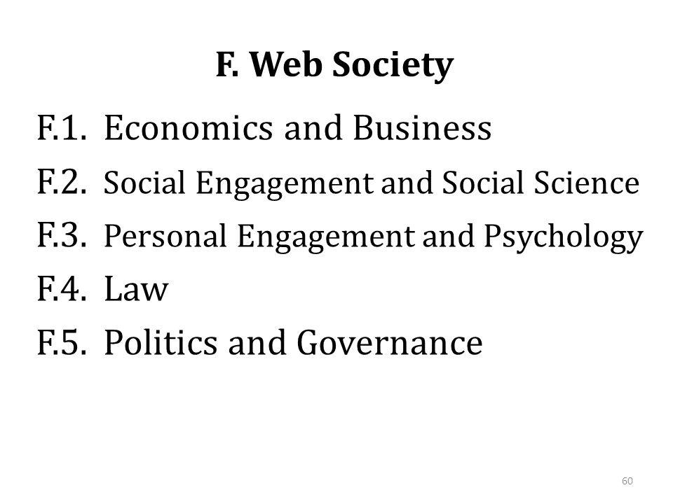 F. Web Society