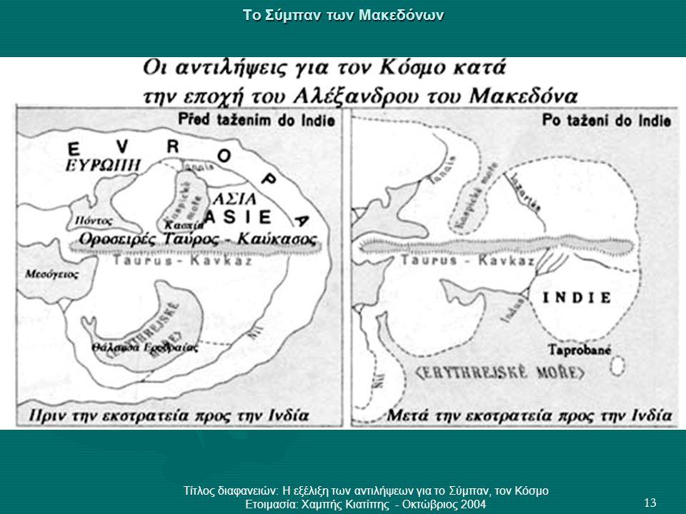Το Σύμπαν των Μακεδόνων
