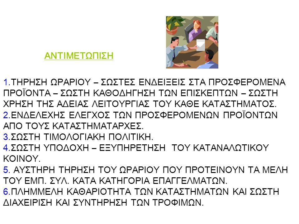 AΝΤΙΜΕΤΩΠΙΣΗ