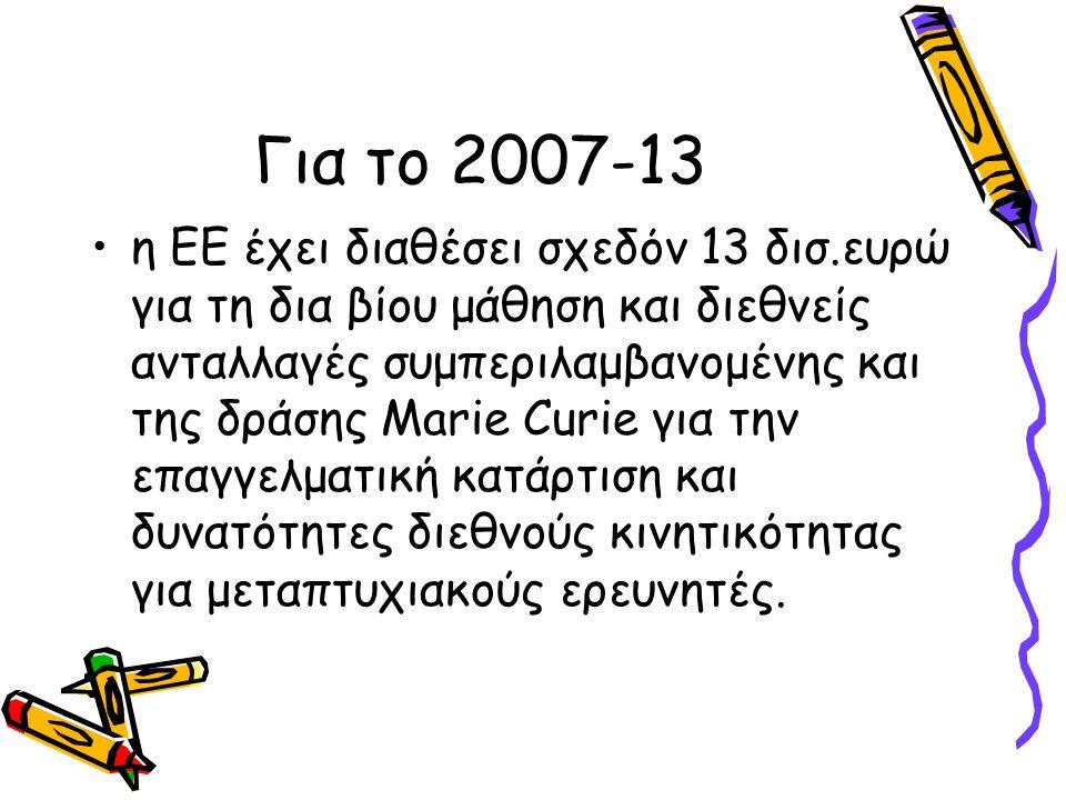 Για το 2007-13