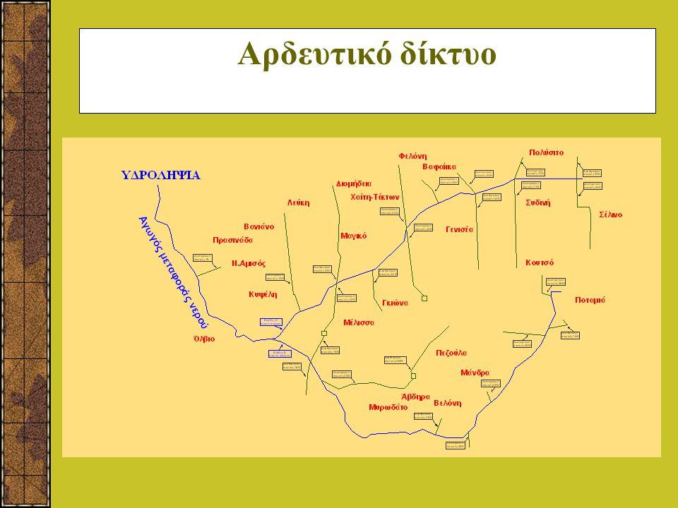 Αρδευτικό δίκτυο