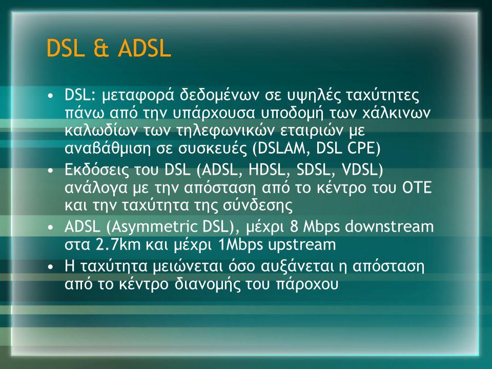 DSL & ADSL