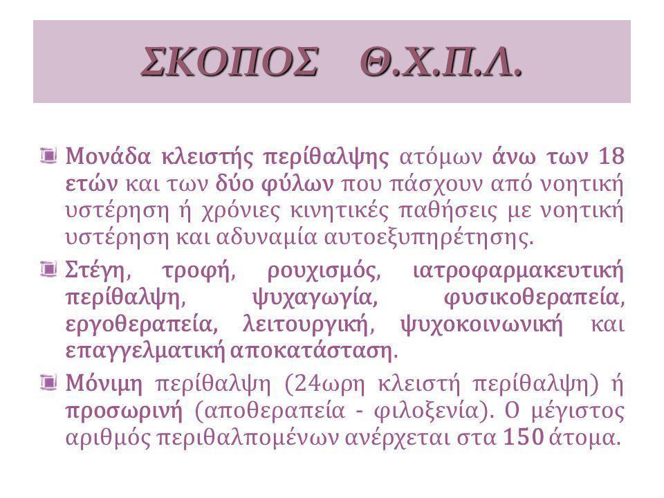 ΣΚΟΠΟΣ Θ.Χ.Π.Λ.