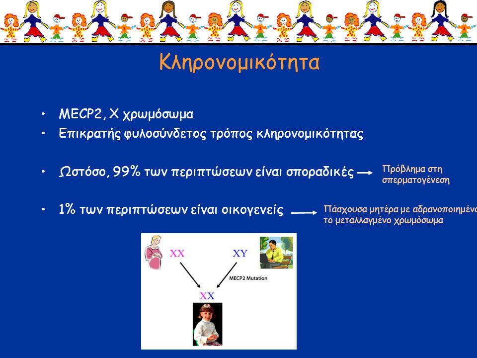 Κληρονομικότητα MECP2, Χ χρωμόσωμα