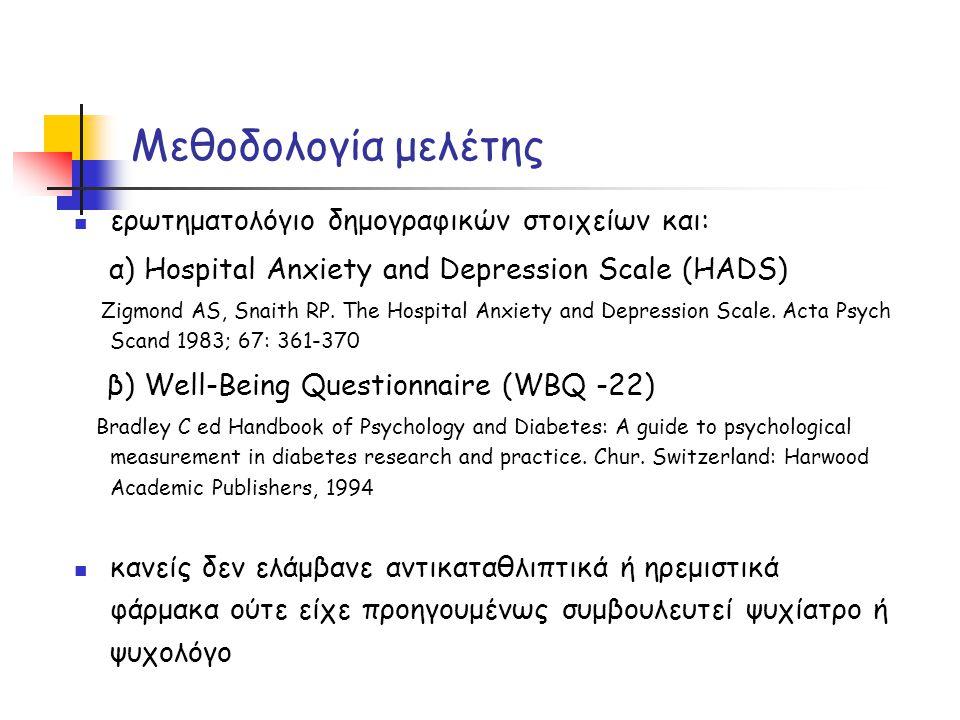 Μεθοδολογία μελέτης ερωτηματολόγιο δημογραφικών στοιχείων και: