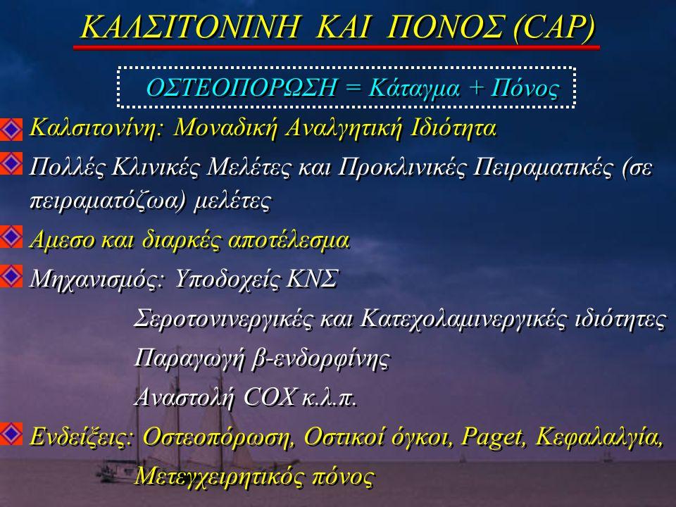 ΚΑΛΣΙΤΟΝΙΝΗ ΚΑΙ ΠΟΝΟΣ (CAP)