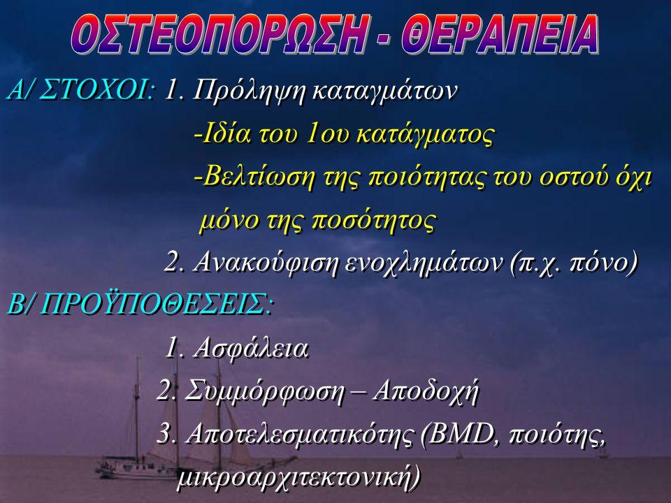 ΟΣΤΕΟΠΟΡΩΣΗ - ΘΕΡΑΠΕΙΑ