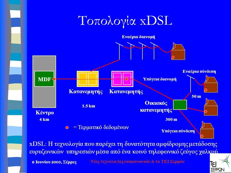 Νέες τεχνολογίες επικοινωνιών & το ΤΕΙ Σερρών