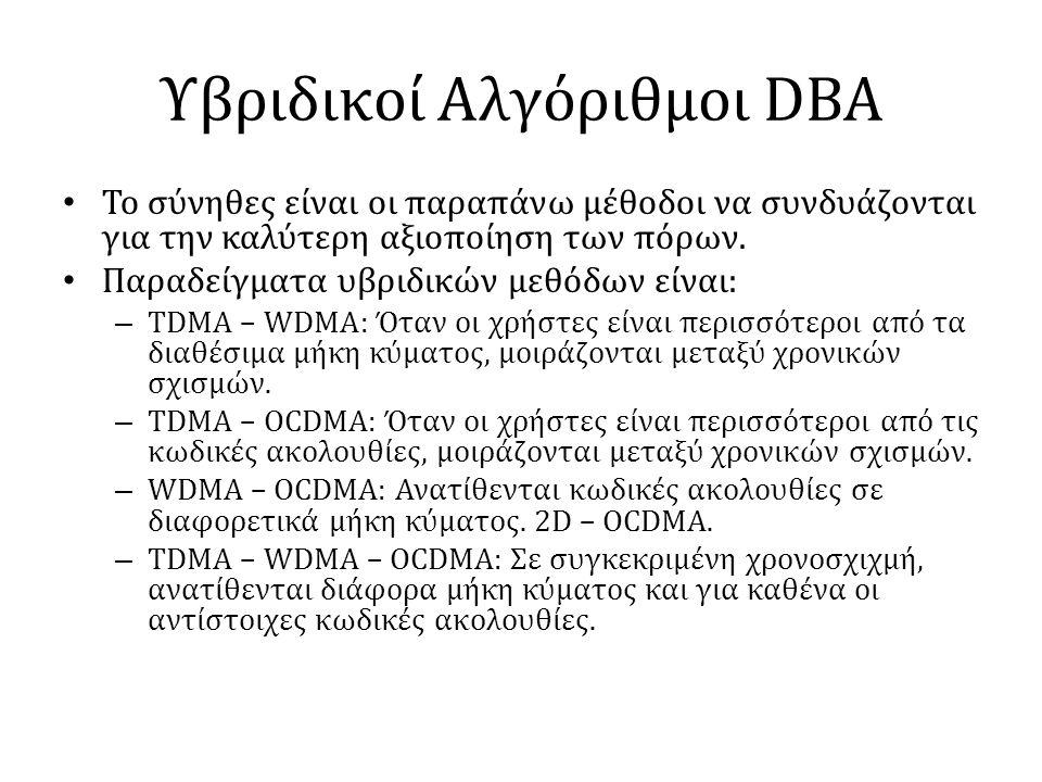 Υβριδικοί Αλγόριθμοι DBA