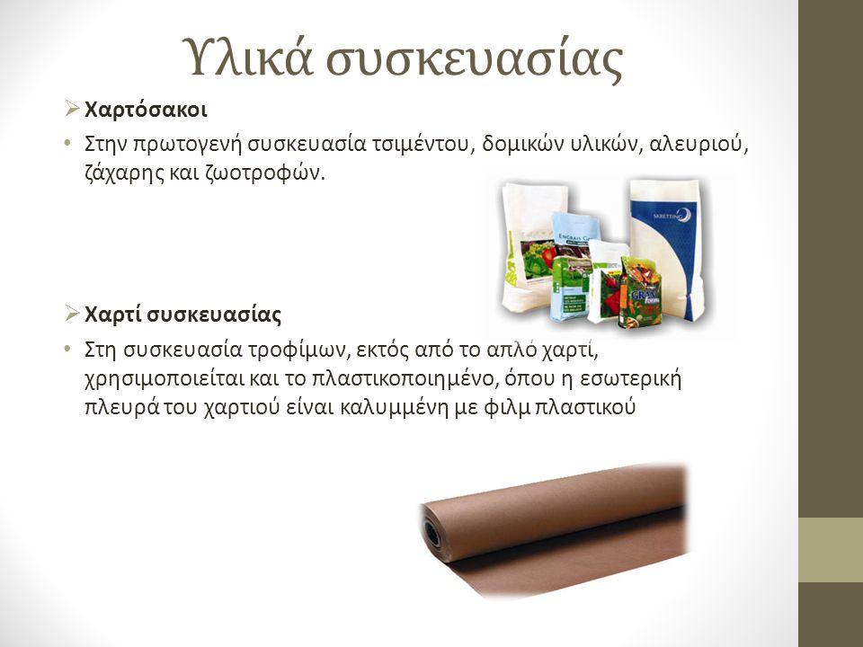 Υλικά συσκευασίας Χαρτόσακοι