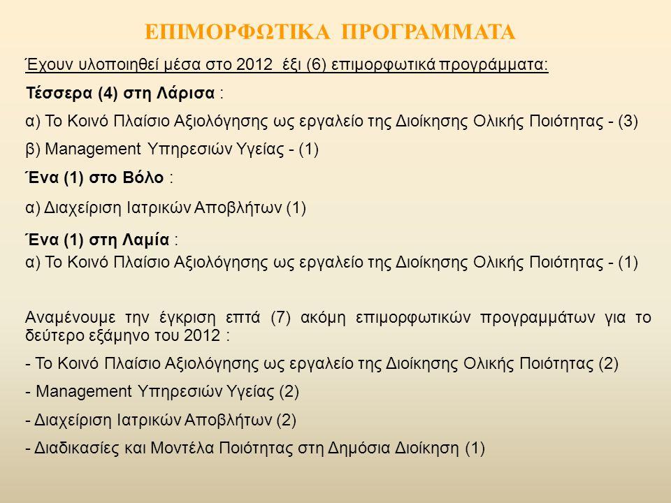 ΕΠΙΜΟΡΦΩΤΙΚΑ ΠΡΟΓΡΑΜΜΑΤΑ