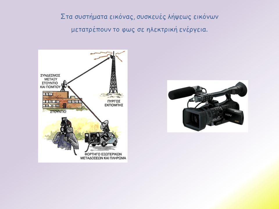Στα συστήματα εικόνας, συσκευές λήψεως εικόνων