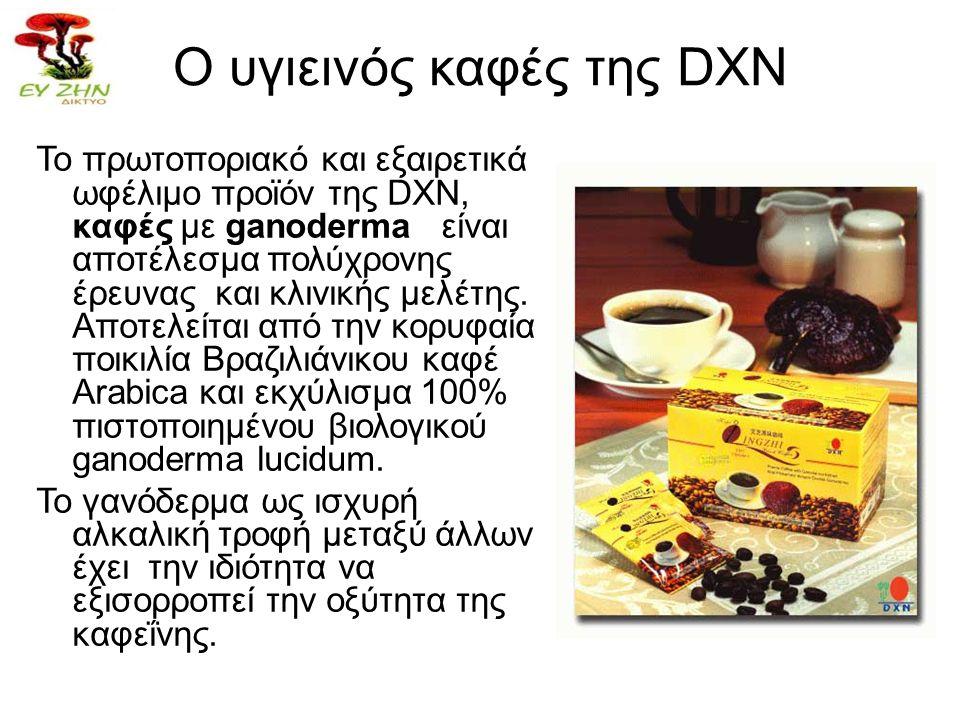 Ο υγιεινός καφές της DXN