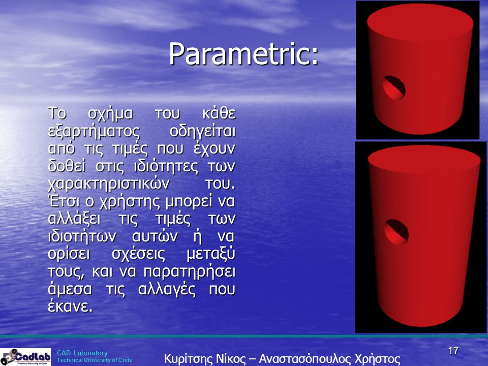 Parametric: