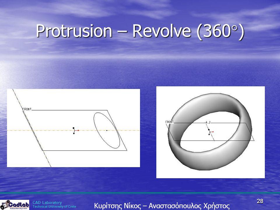 Protrusion – Revolve (360)
