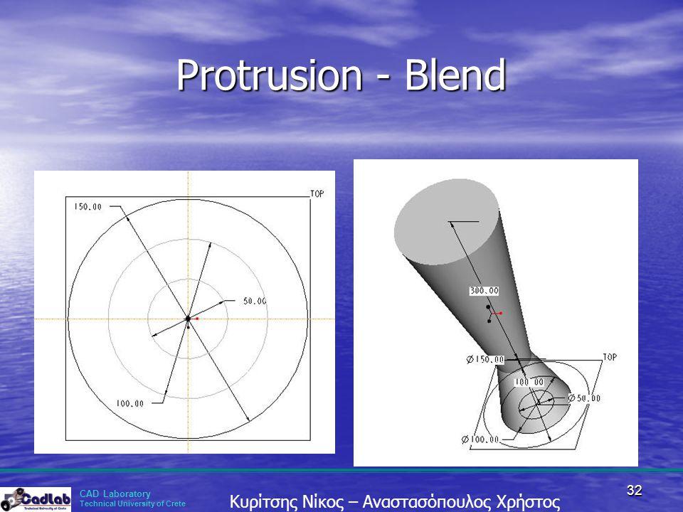 Protrusion - Blend