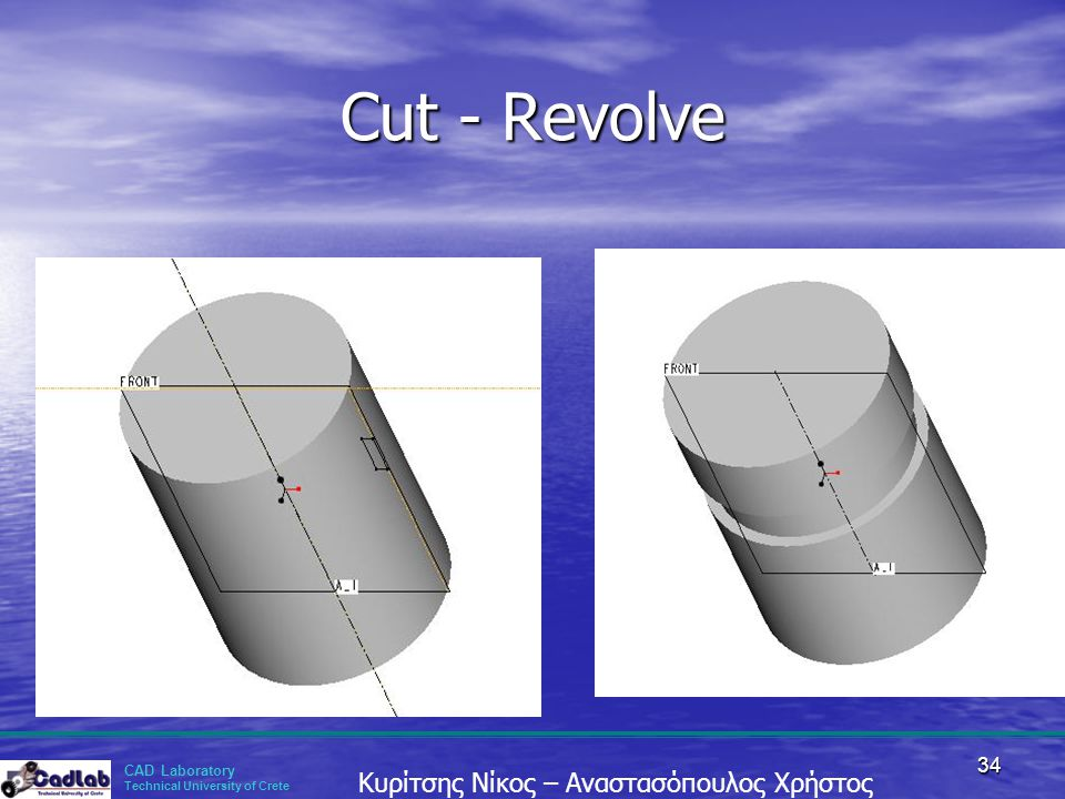 Cut - Revolve