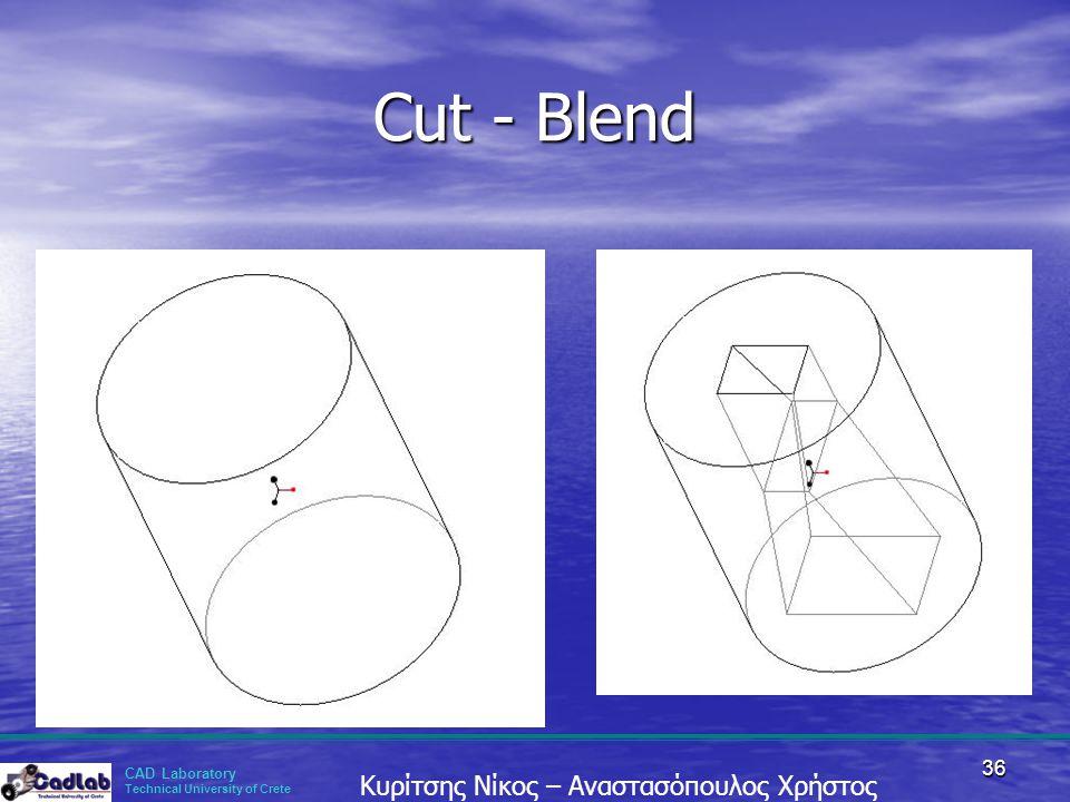 Cut - Blend