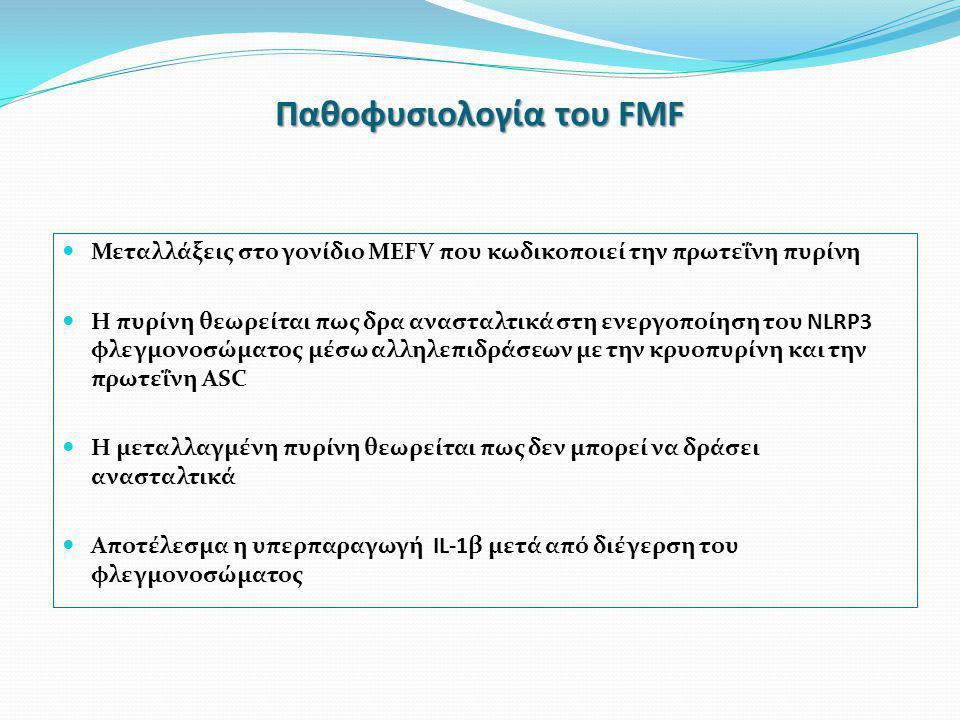 Παθοφυσιολογία του FMF