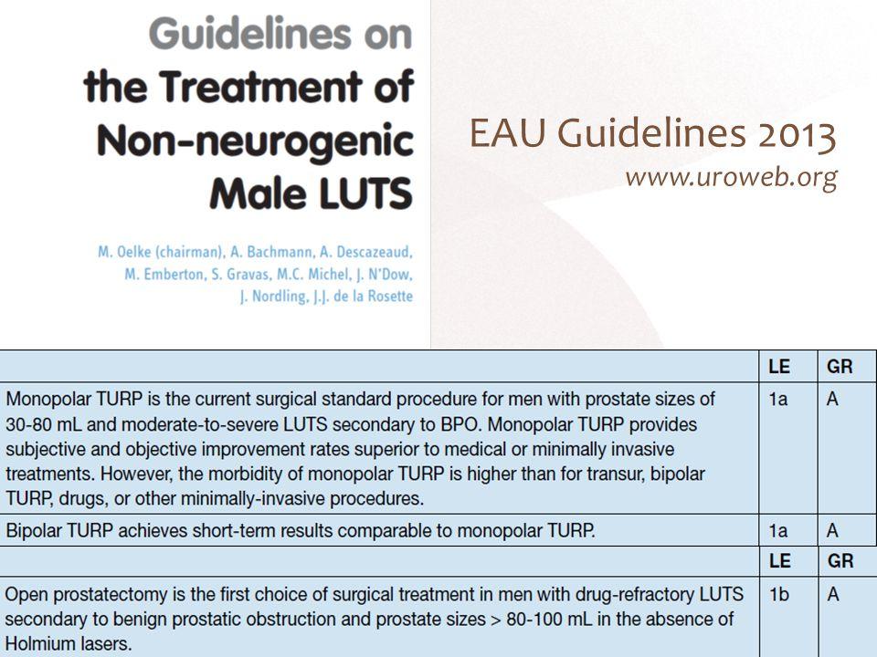 EAU Guidelines 2013 www.uroweb.org 15