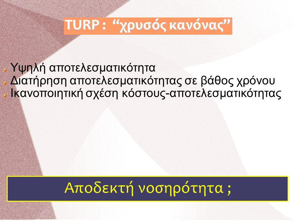 TURP : χρυσός κανόνας
