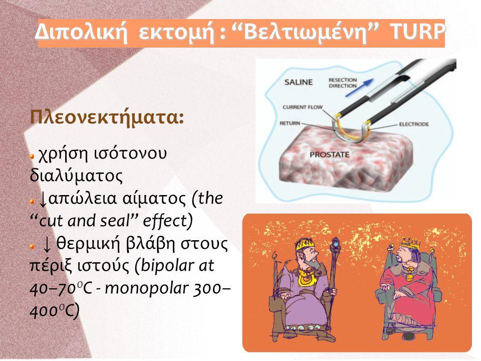 Διπολική εκτομή : Βελτιωμένη TURP