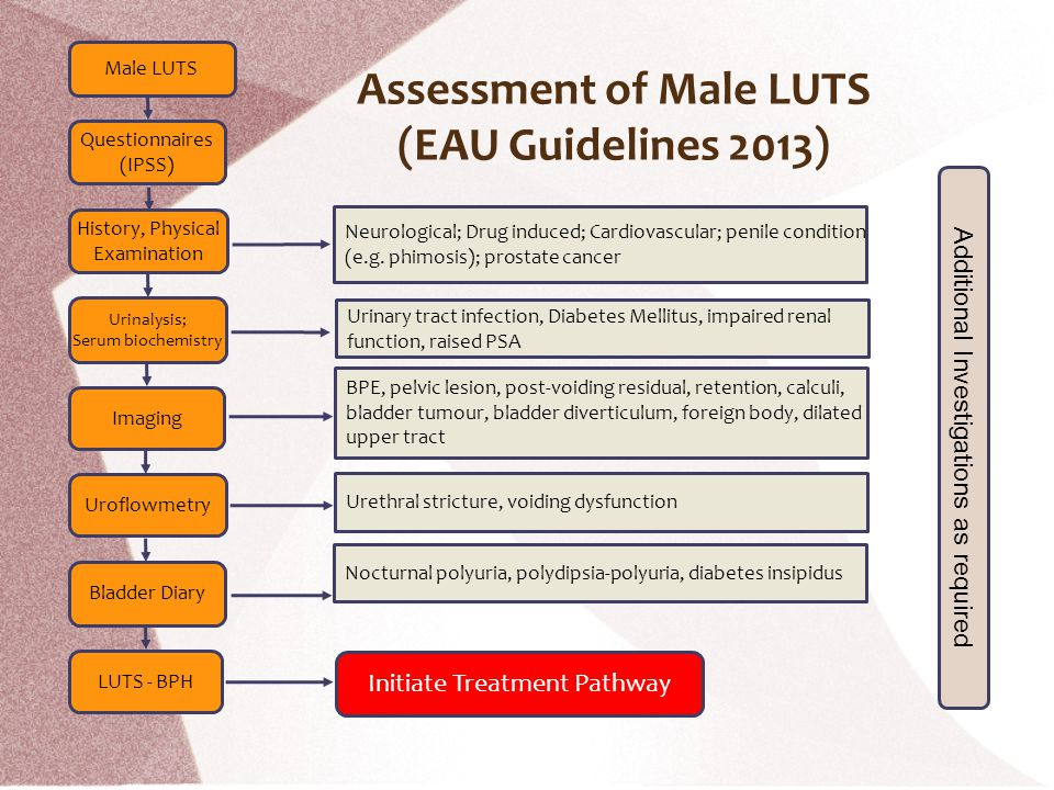 Assessment of Male LUTS